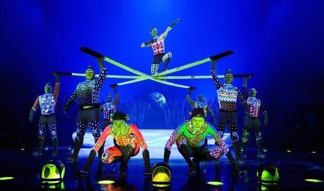 Barras rusas - Totem - Cirque du