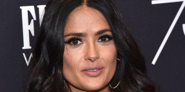 La actriz Salma Hayek, el 15 de noviembre de 2017 en Los