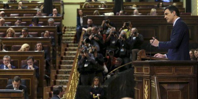 Pedro Sánchez, a Rajoy: