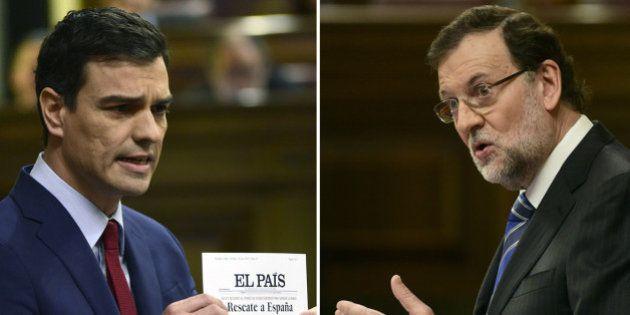 Sánchez encoleriza a Rajoy y éste le tilda de