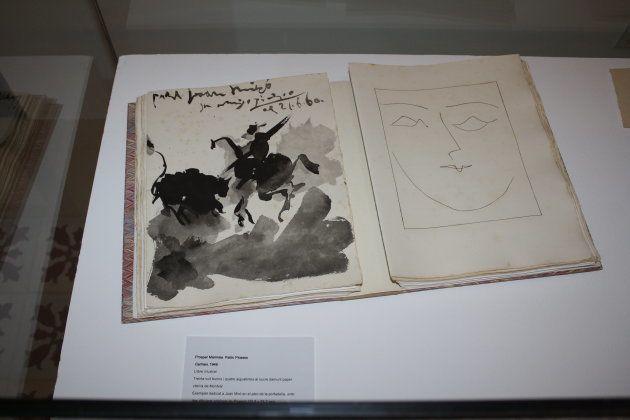 Un dibujo que Pablo Picasso regaló (y dedicó) a Joan