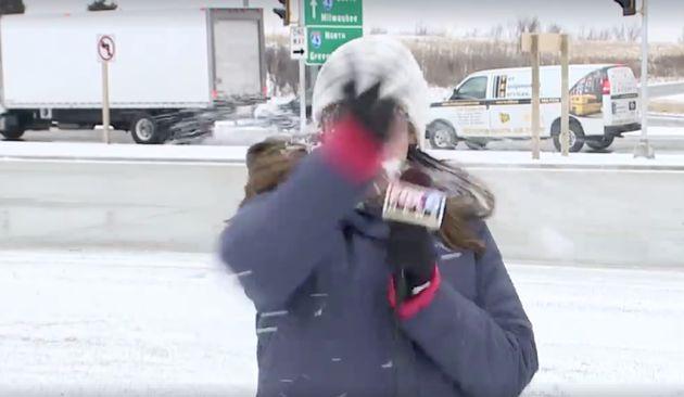 Esta reportera no sospechó lo que iba a pasarle antes de entrar en