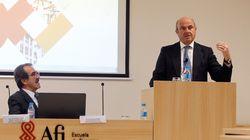 Guindos confía en que las empresas vuelvan a Cataluña tras las