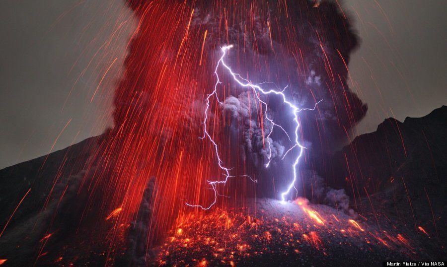 Rayos en volcanes: ¿por qué se producen?