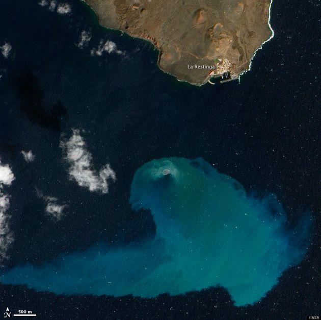 Volcán submarino de El Hierro: la fotografía gana el concurso de