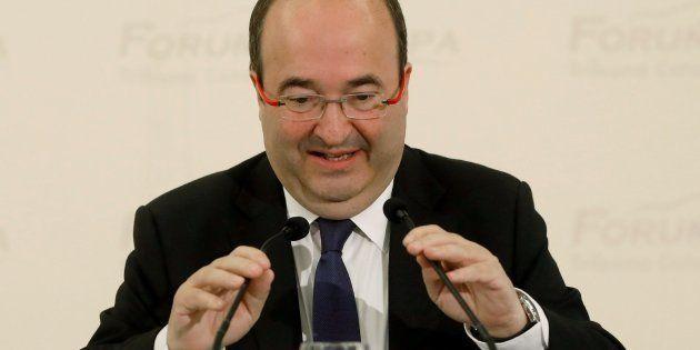El candidato del PSC a la presidencia de la Generalitat, Miquel
