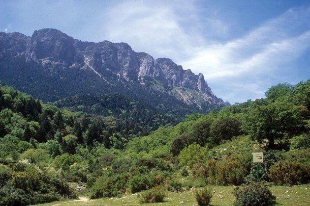 Vista general de la Sierra de
