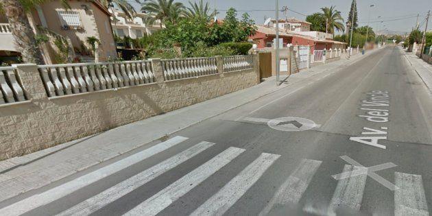 Avenida del Vincle de El Campello, lugar donde han ocurrido los