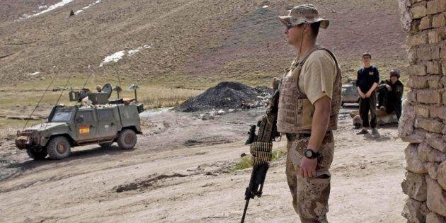 Un militar español, herido grave tras sufrir un accidente en