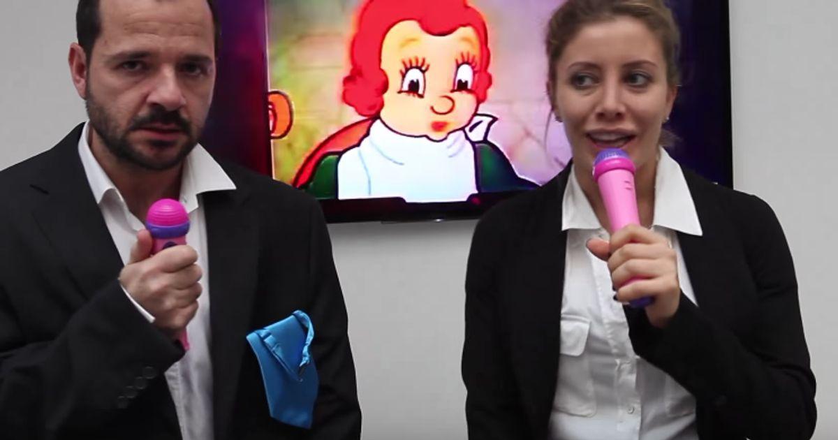 ángel Martín Y Eva Fernández Parodian El Vídeo Viral De Las