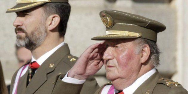 El rey advierte en la Pascua Militar de que la crisis es