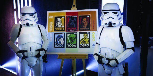 Correos dedica sellos a 'Star Wars' por su 40º