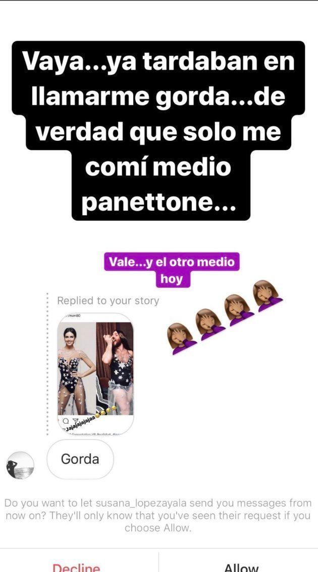 La irónica respuesta de Cristina Pedroche a este insulto por su