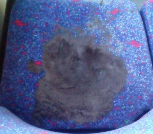 Una sustancia abrasiva en el asiento de un autobús de Madrid causa quemaduras a dos