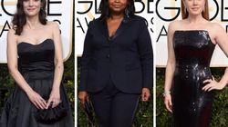 Por qué verás a muchas actrices de negro en los próximos Globos de