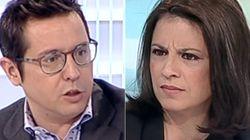 El presentador de TVE hace una pregunta basada en un bulo... y deja a una socialista con esta
