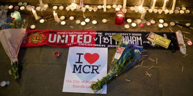 Homenajes a las víctimas del atentado de Manchester el 22 de mayo. (Foto de Jeff J Mitchell/Getty