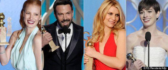Ganadores Globos de Oro 2013: premios para Argo y Los Miserables