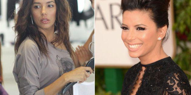 Antes y después: así se ponen al 100% las actrices de los Globos de Oro 2013
