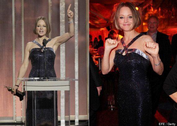 Jodie Foster en los Globos de Oro: reivindica sus 50 años y su homosexualidad