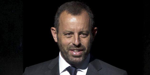 El expresidente del Barcelona, Sandro Rosell, en una imagen de