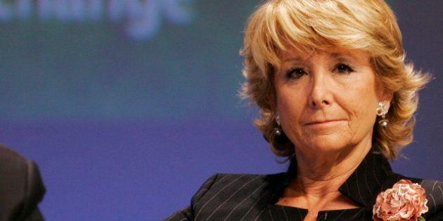 Esperanza Aguirre deja su puesto como funcionaria y ficha por una empresa privada de