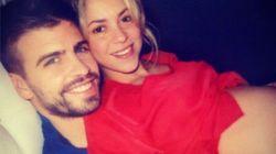Shakira durante el embarazo