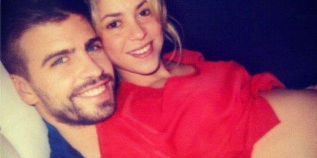 Nacimiento del hijo de Shakira y Piqué: fotos de la cantante durante el