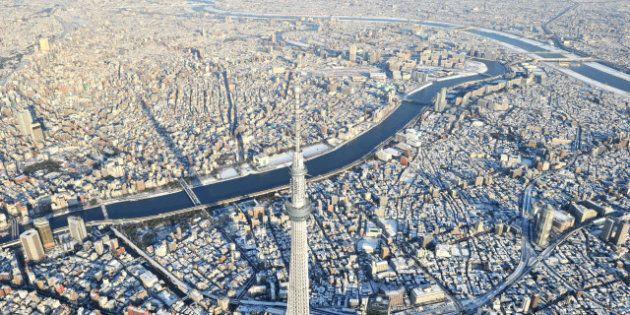 Tokio, París y otras ciudades convertidas en postales de nieve
