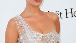 Bella Hadid triunfa en la gala amfAR con un vestido