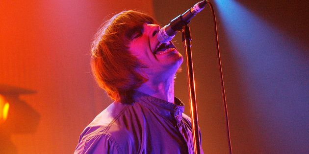 Liam Gallagher durante un