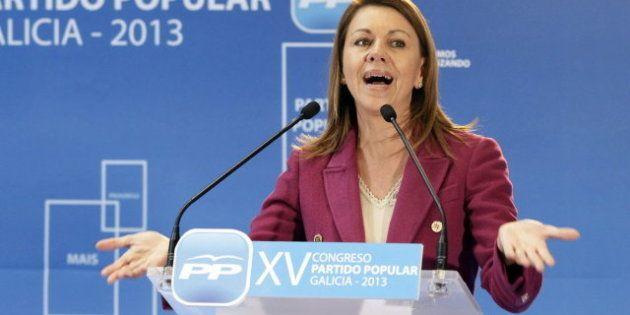 Cospedal asegura que hay exdirigentes de Castilla-La Mancha con