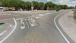 Unos operarios de Tudela (Navarra) han 'reinventado' esta señal... con lamentable