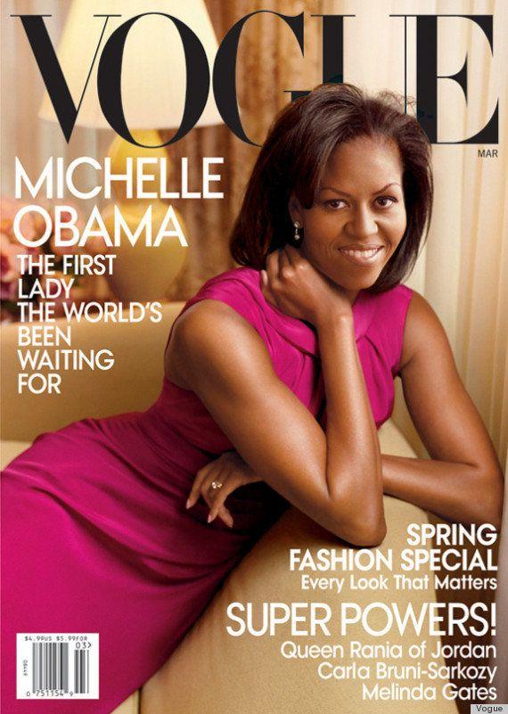 Michelle Obama: portada de Vogue en abril de 2013
