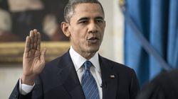Obama jura el cargo para un segundo mandato (VÍDEO,