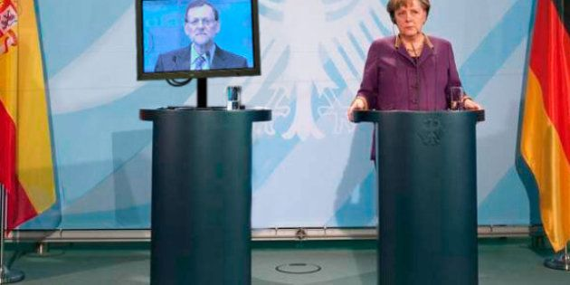 Mariano Rajoy comparece en un monitor: los montajes en