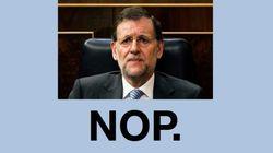 ¿Dimite Rajoy? Respuestas con humor (FOTOS,
