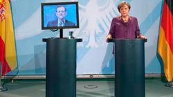 Rajoy y el monitor: los