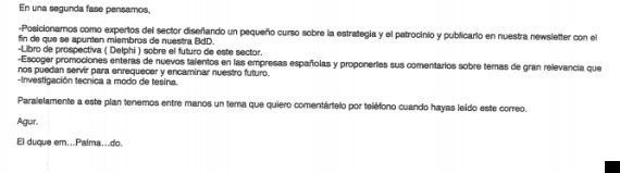 El duque em...Palma...do: Iñaki Urdangarin bromeaba con su firma en correos al secretario de las infantas