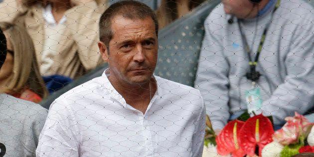 Journalist Manu Carreño during Madrid Masters Series TennisTournament on Saturday 7th May,