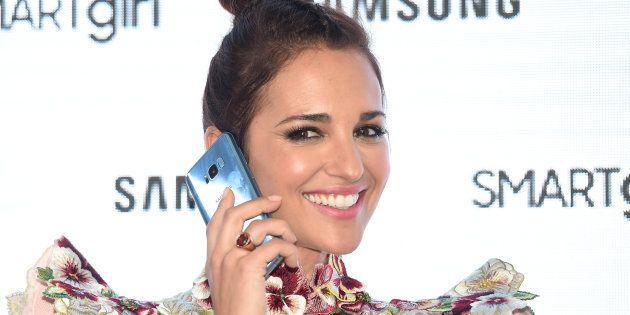 La actriz Paula Echevarria durante imagen de la