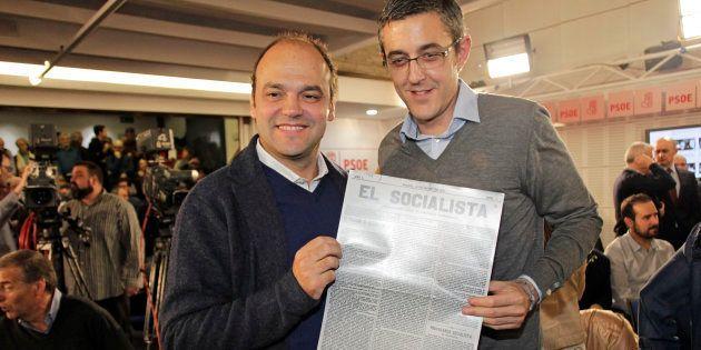 Eduardo Madina y José Carlos