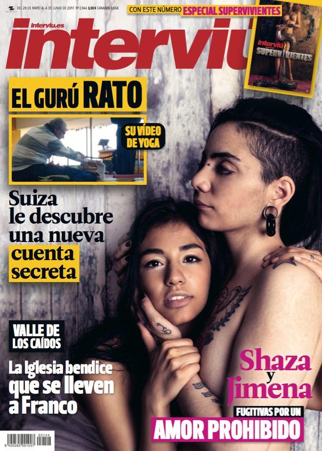Jimena y Shaza se desnudan en la última portada de