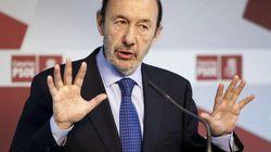 Rubalcaba, a Rajoy: