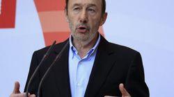Rubalcaba pide la dimisión de Rajoy