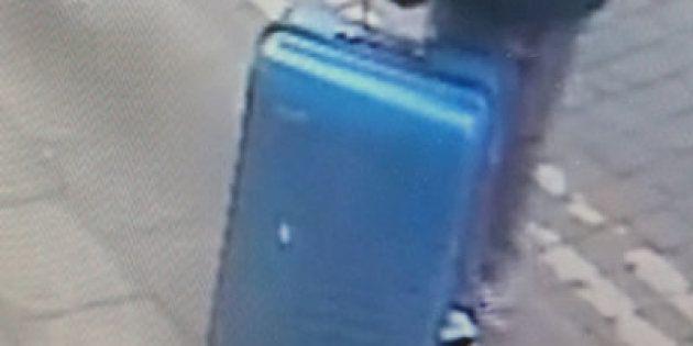 La Policía pide colaboración para localizar una maleta del autor del atentado en