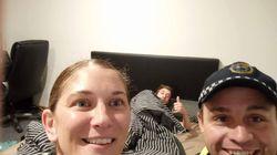 Glorioso: descubre que la Policía lo ha llevado a casa borracho y se ha hecho 'selfies' con