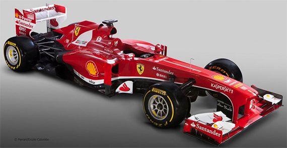 Ferrari presenta su F138, el F1 para recuperar el título