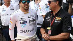 Fernando Alonso, rookie del año en Indy