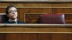 El irónico tuit de Errejón que saca los colores al diputado que permite sacar a Rajoy sus